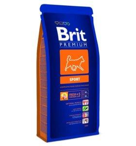 Brit Premium Sport д.активных собак Всех пород15кг