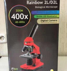 Микроскоп Levenhuk Rainbow 2L/D2L
