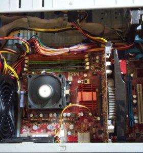 Системный блок (2-ух ядерный процессор)