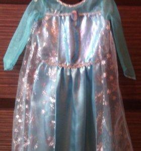 Платье Эльзы.