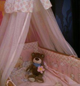 Кровать + полный комплект