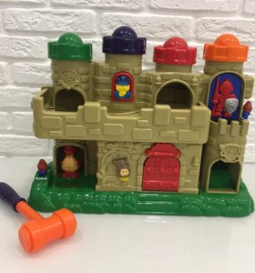 Замок с шарами Redbox