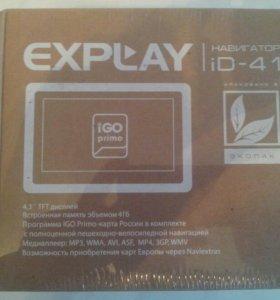 GPS-навигатор Explay iD-41(iGO primo)