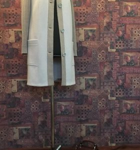 Продаю комбинированное пальто сшитое под заказ