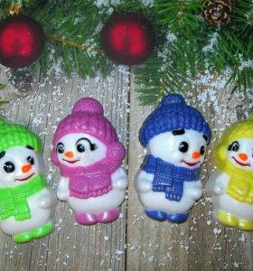 Сувенирное мыло - Снеговик