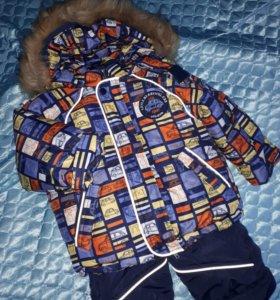 Комплект куртка-комбинезон(зима)для мальчика 1-2г.