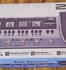 Гитарный эффект процессор - звуковая карта ZOOM G5