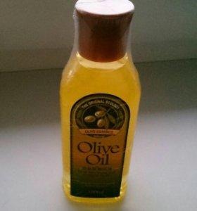 Масло для волос и лица. Оливковый.