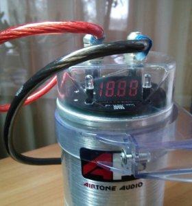 Накопитель для авто-звука 2 фарада airtone audio