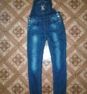 Комбинезон джинсовый ,и для беременных
