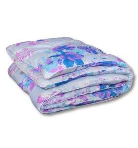 Одеяло теплое из шерсти пуховое байковое детское