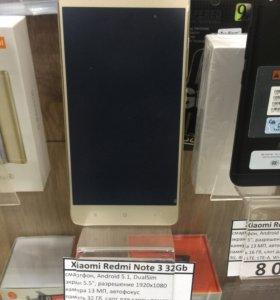 "Xiaomi Note 3 32gb 3gb 5.5"""