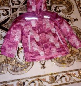 Куртка зимняя Б/у! 116 р-р.