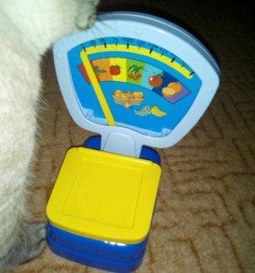 Детские весы игрушка