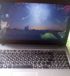 Ноутбук Asus x540s серебристый б/у
