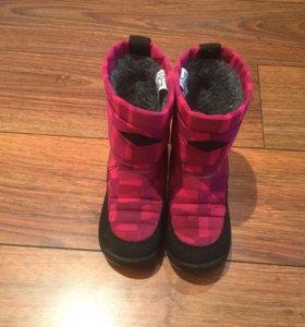 Зимние сапоги на девочку Kuoma 29 размер