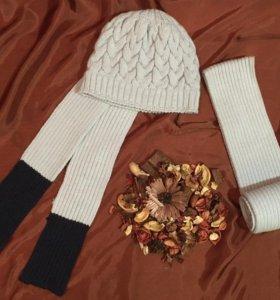 Продаю набор - новую шапку с шарфом