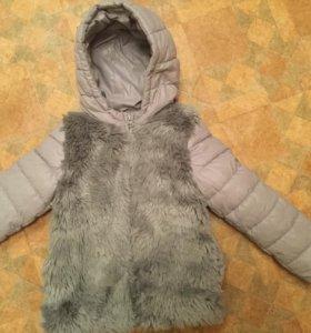Тёплая куртка до -5 Беннетон
