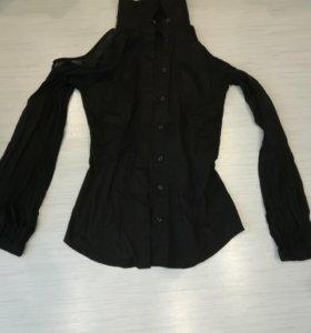 Рубашка чёрная, новая