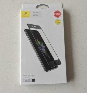 Защитное стекло Baseus на весь экран iPhone 7