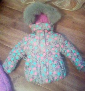 Зимний костюм тройка