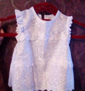 Крестильное платьице новое