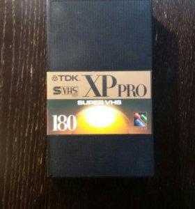 Видеокассета TDK XP PRO.