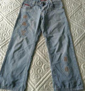 Женские джинсовые капри разм.40-42