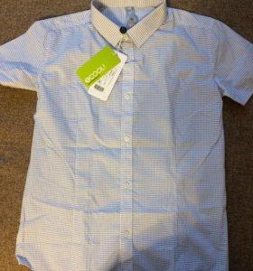 Рубашка школьная для мальчика новая
