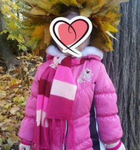 Куртка осень-зима 86-92 для девочки