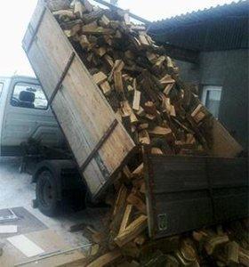 Сосна, колотые дрова