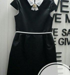 Элегантное платье на девочку. Рост 140-146 см.