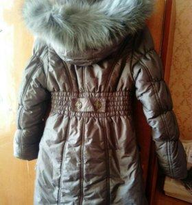 Пальто пуховик зима ❄