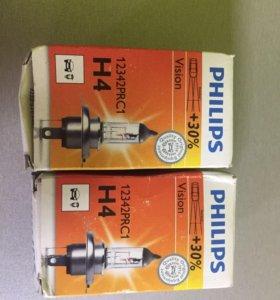 Лампа автомобильная H4 philips