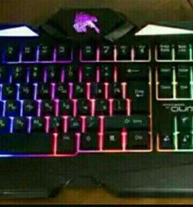 Новая клавиатура с подсветкой