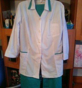 Медицинский новый костюм женский