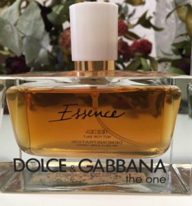 ✔️ TESTER DOLCE & GABBANA THE ONE ESSENCE