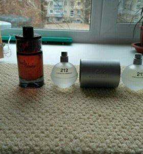 Настоящий женский парфюм ajmal , 212 vip