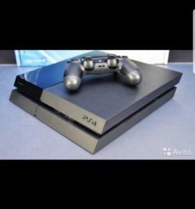 PS4 в отличном состоянии