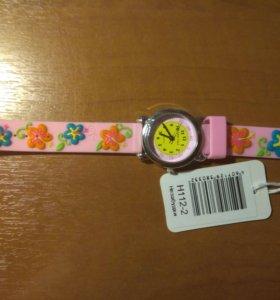 Детские наручные часы тик-так н112-2 незабудки