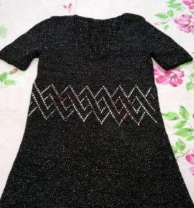 Платье ручной работы.