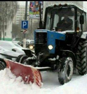 Механизированная чистка территорий от снега