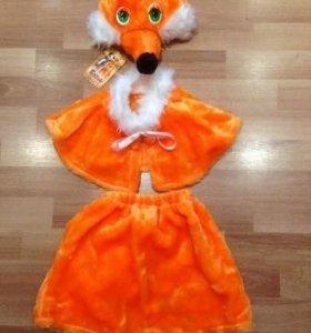 Новогодний костюм лисички