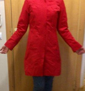 Куртка длинная демисезон 42