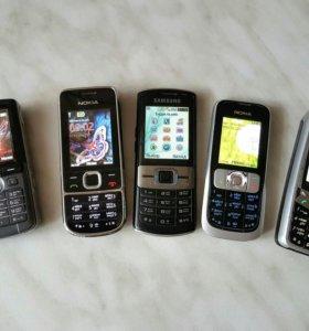 Телефоны кучкой из 2000х ( антиквариат ) 😆