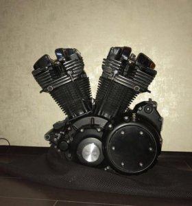 Yamaha warrior 1700 двигатель для декора