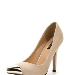 Замшевые туфли лодочки Kira Plastinina