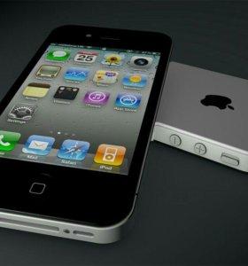 iPhone 4S 16Gb Black / White