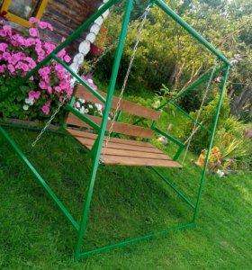 Качель садовая