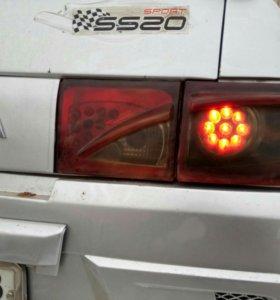 Задние фонари на 2110-2112